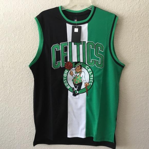 new arrivals c770c 1b85c Unk NBA Boston Celtics Colorblock Jersey NWT